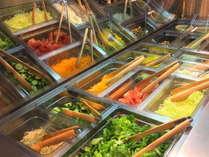 洋食レストラン『カテリーナ』大分県産にこだわったサラダバーです。