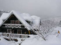 豪雪のときはタイヘンなんです