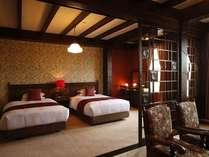 【客室/オリエンタル】広々としたお部屋は、ゆったりと過ごしていただける落ち着きある佇まい