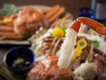 プリプリの蟹刺しは甘くて美味しい♪