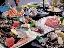 活あわびの踊り焼き80G&但馬牛ステーキ&鮮魚刺身5種盛り等グルメ三昧