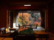紅葉時のグレードアップお部屋一例