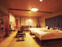【特別室 時子の間】ゆるやかに過ぎる寛ぎの空間を演出!