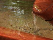 ■湯ざわりが優しい無色透明な温泉は、もちろん天然温泉100%の源泉かけ流し♪