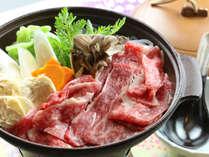 清盛自慢の《湯波と和牛の陶板焼き》湯西川の郷土の味をお楽しみください