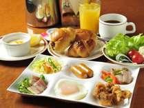 【朝食盛り付け例】洋食派さん
