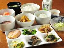 【朝食盛り付け例】和食派さん