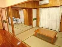 *【喫煙可】和洋室60平米(キッチン付)/広々した畳部屋でグループや家族でもゆっくり過ごせます