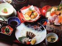 *冬限定の美味しさ♪ふぐ4品付きの贅沢なプランです。