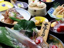 ≪とれとれ会席≫新鮮さにこだわった食材の数々をお楽しみ下さい