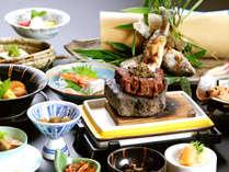 【爛ran・基本会席】 純和風のお部屋で桃山伝統の割烹料理を愉しむプラン【夕部屋食】