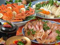 冬の味覚の王様「かに」!天橋立ホテルでは11月7日~3月31日まで「かに」料理をお楽しみいただけます。
