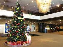 [ロビー]今年のクリスマスツリーはいつもよりキュートな装い★