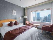 スタンダードダブルルーム■26平米 幅160cmのベッドを使用(※写真はイメージです)