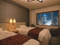 デラックスツインルーム■32平米 幅120cmのベッドを使用(※写真はイメージです)