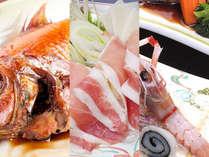 手長海老と金目鯛を楽しむ会席料理