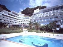 ☆【全室オーシャンビュー】渚の白いホテル 雄大な海を前に心を解放☆海辺にある露天風呂でゆったりと。