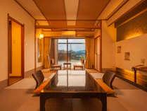 【オーシャンビュー露天風呂】付き和室10畳<4階ベランダ付>(客室一例)
