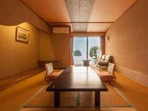 【オーシャン&三四郎島ビュー】和室10畳<4階以上ベランダ付>(客室一例)