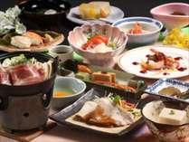 お料理は郷土色豊かな献立をご用意しております。※写真はイメージです