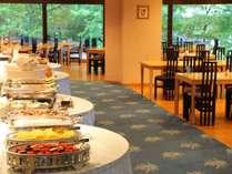 ◇レストラン「奥入瀬」での朝食バイキングの一例