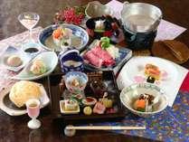 【冬料理】【スタンダード】1品ずつ出来たてをお出しする食事スタイル