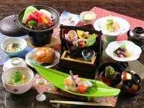 【春料理】【スタンダード】1品ずつ出来たてをお出しする食事スタイル