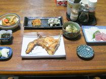 *夕食一例/屋久島産の地魚をご堪能下さい。
