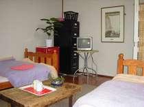 ベッドタイプの洋室ツインルーム