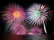 【水郷祭プラン】2019年松江水郷祭湖上花火大会を観賞する為 の特別会席と早めの夕食時間で夏祭りを楽しむ
