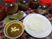 本格派ネパール風キーマカレー