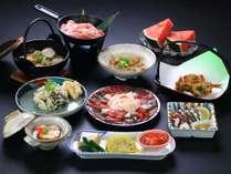 【グレードアップお料理一例】「からし蓮根」や「馬刺し」まで熊本の郷土料理をお楽しみいただけます