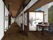 リニューアル後の個室レストラン(イメージ画像)