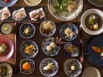【ご夕食 蓼科 山ごはん】秋メニュー一例