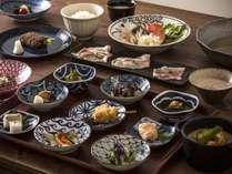 【ご夕食 蓼科 山ごはん】冬メニュー一例
