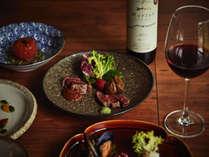 【ご夕食 蓼科 山キュイジーヌ】山の幸をふんだんに使った和フレンチ「蓼科 山キュイジーヌ」の一例