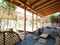 庭園露天風呂の広さが自慢の大浴場「千勝の湯」