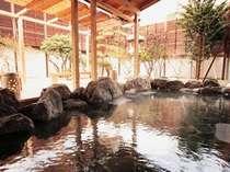 千勝の湯(大浴場)の露天風呂