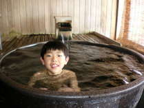 温泉露天風呂付客室(浴槽は信楽焼)