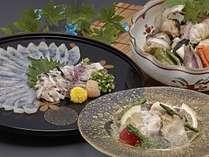 ☆夏ふぐ☆夏にふぐ⁉5年連続ふぐ漁獲量NO1輪島!!本場のふぐ料理を味わってみては…?