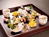 華楽お料理イメージ(春の前菜)