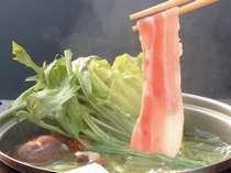 *【料理一例】やわらかくさっぱりとした「豚のしゃぶしゃぶ」