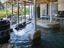 大浴場(あつ湯)~約42℃