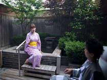 道後温泉をふたり占め♪露天風呂付き客室プラン(写真のお風呂は一例です。)