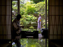 【特別室】3階の和風庭園を望む貴賓室(307)