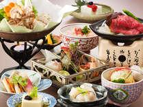 レストラン四季より 季節の旬の食材を使った会席 ~イメージ~