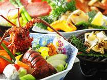 瀬戸内の旬の食材を使った本格和会席をお愉しみください。※写真は2013年夏・聚楽プランイメージです。