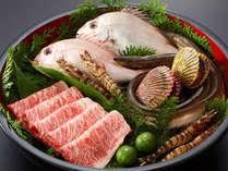 瀬戸内海の海の幸や愛媛ブランド伊予牛など…その時期の特選素材をお楽しみ下さい