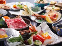 【2015年レストラン・料理長お勧め会席】※写真はイメージです。内容は季節替りになります。