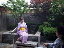 ◆露天風呂付客室 道後の湯を存分にお部屋でお楽しみください